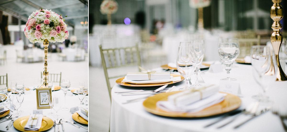 stoly weselne dekoracje zdjecie