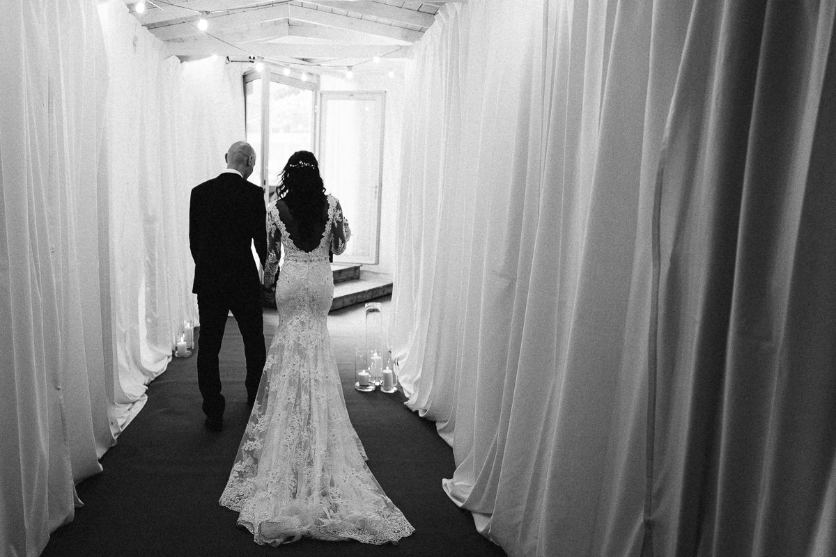 wejscie na sale weselna zdjecie