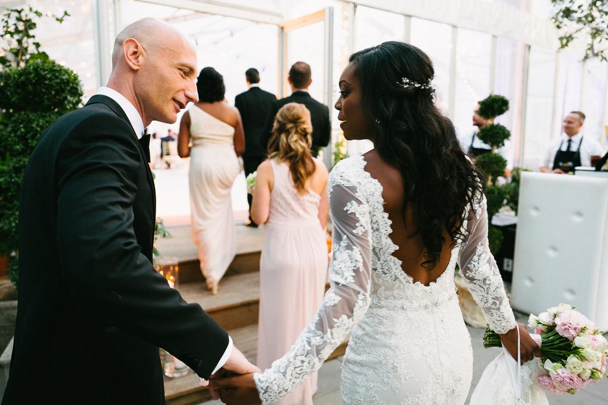 wejscie na sale weselna